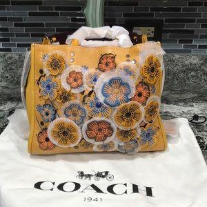 Coach Tea Rose Bag